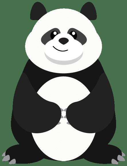 Monty The Panda! - IMAGO's mascot